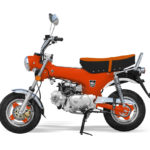 mini moto city orange
