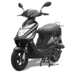 scooter 50cc Roma Noir Brillant