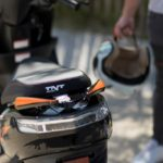 coffre sous selle scooter
