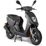 Scooter 50cc halo noir mat