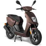Scooter 50cc halo Brun Tobacco