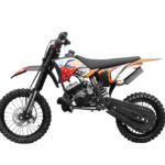 moto enfant cross orange